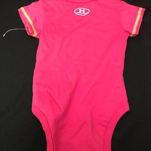 Under Armour One Pieces - Girls Infant 3-6 M Under Armour Onesie Pink NWT